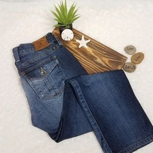 Lucky Brand Janet Sweet & Straight Crop Jeans